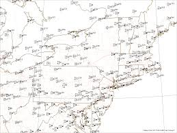 Map Northeast Usa by Current Real Time Weather Maps Weather Analysis Charts Weather