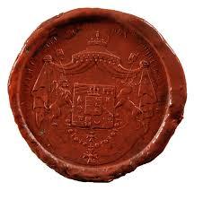Wappen Baden Landesarchiv Baden Württemberg Siegel König Friedrich I Und