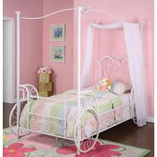 Twin Size Canopy Bed Frame Bedroom Furniture Sets Twin Bed Frame Beds For Kids Toddler