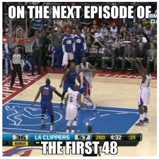 Deandre Jordan Meme - deandre jordan injures ankle while reenacting his dunk on brandon