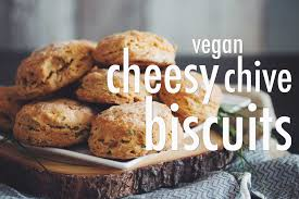 vegan desserts for thanksgiving vegan cheesy chive biscuits for food youtube