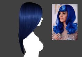 sims 4 blue hair katy perry sims tumblr