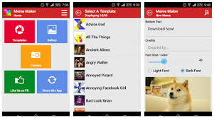 Meme Maker Android - 5 aplikasi android untuk membuat foto meme ciricara tekno
