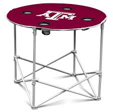 amazon com arizona state sun devils collapsible round table with