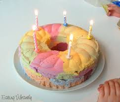 crazy colours vegan ice cream cake recipe eating vibrantly