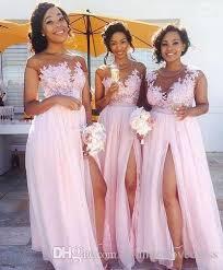 blush pink bridesmaid dresses 2017 new illusion blush pink chiffon bridesmaid dresses tulle