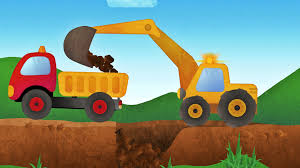 tony the truck u0026 construction vehicles app for kids diggers