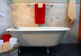 your freestanding bath acrylic steel composite or natural stone