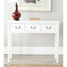 Antique White Console Table Antique White Small Console Table With Storage Home Decor Diy
