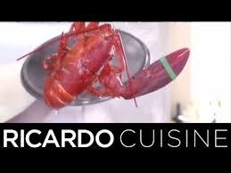 comment cuisiner un homard comment cuire un homard ricardo cuisine