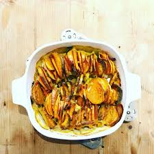 cuisiner patates douces recette rapide d un tian aux patates douces carottes la saison