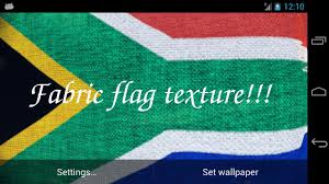The New South African Flag 3d South Africa Flag Lwp Android Apps On Google Play