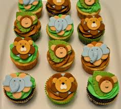 the cutest little cakes by celeste jungle cupcakes for boy baby