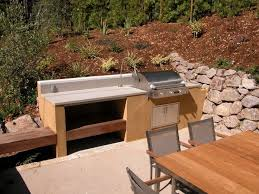 How To Build An Outdoor Kitchen Counter by Best 25 Simple Outdoor Kitchen Ideas On Pinterest Outdoor Grill