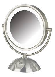 Vanity Mirror With Lights Amazon Com Jerdon Hl8505nl 8 5 Inch Led Lighted Vanity Mirror