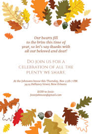 thanksgiving invitations templates happy thanksgiving
