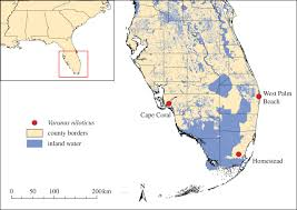 Cape Coral Florida Map Combining Genetic And Distributional Approaches To Sourcing