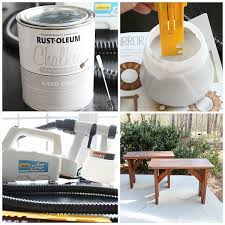 spray paint with wagner home decor sprayer refresh restyle