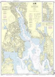 Nautical Maps Noaa Chart 13224 Providence River And Head Of Narragansett Bay