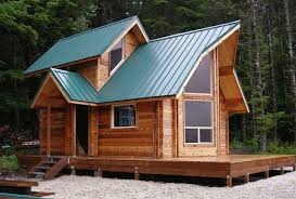 tiny cabin small log cabin plans with loft home kits pre manufactured homes