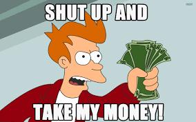 Memes Wallpapers - futurama money meme shut up memes wallpapers