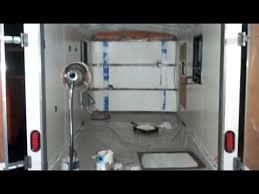 Cargo Trailer With Bathroom Cargo Camper Conversion Build Youtube