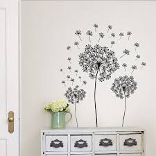 wall art kit dandelion small wall decal products pinterest wall art kit dandelion small wall decal