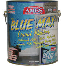 Rubber Basement Sealer - blue max is a premium elastomeric basement coating from ames
