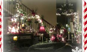 Christmas Decorations Banister Christmas 2015 Interior Design Decorating Banister Staircase