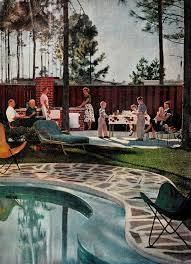 Pool In The Backyard by 149 Best Mid Century Backyard Images On Pinterest Architecture