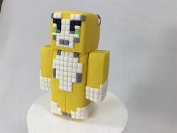 minecraft cake topper minecraft 3 d edible sugar cake topper the patatopatch madeit