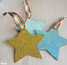 diy corrugated ornaments darice