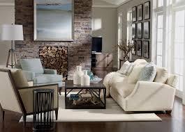 ethan allen home interiors rustic chic living room ethan allen