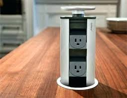 kitchen island outlets pop up outlets for kitchen and 62 carlon pop up electrical outlet
