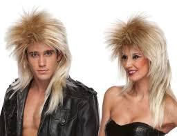 spirit halloween wigs heavy metal wig ebay