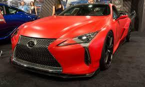 lexus red paint code sema 2017 12 wild tuner cars autonxt