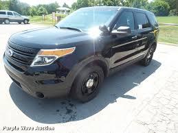 Ford Explorer 2013 - 2013 ford explorer police interceptor suv item da1662 so