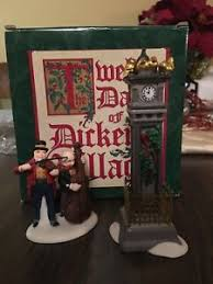 department 56 12 days of dickens four calling birds ebay