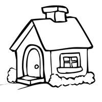 coloring page house freshcoloring printable houses coloring pages