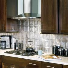 Tin Tile Backsplash Armstrong Ceilings Residential - Metal kitchen backsplash