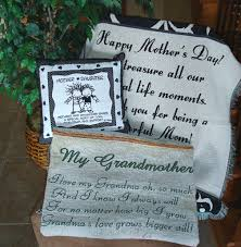 grandmother gift throw blanket gift grandmother throw blanket embroidered