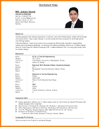 chic sample application resume format for your resume form