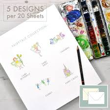 fairy writing paper themed stationery writing paper honeytree quick view