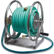 garden hose reel money outline