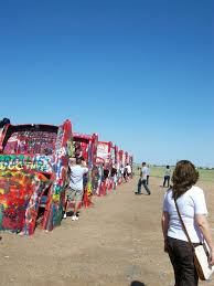 cadillac ranch carolina united states see the south