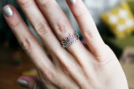 stacking name rings a few favorite moments from last month not to be forgotten