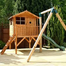 13 u0027 x 12 u0027 ft 4 x 3 7m children u0027s wooden garden playhouse tower