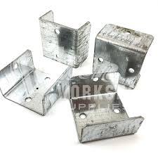 40mm fence u0026 trellis clips bracket panel fixing decking post