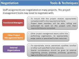 functional managers the process of identifying and documenting project roles