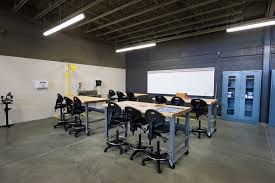 Training Center Interior Design Emerging Technology Complex Victoria College Industrial Training